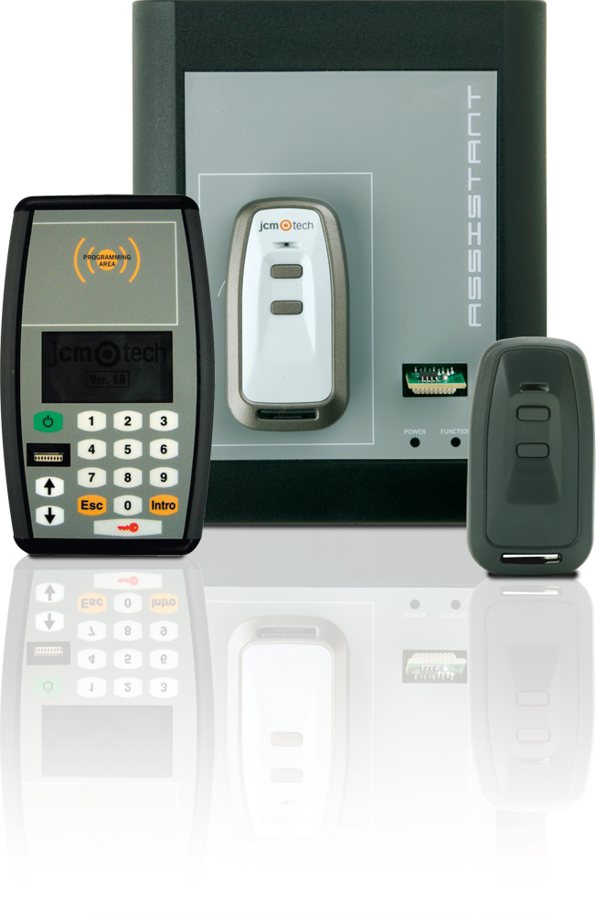 Programování ovladačů JCM Technologies