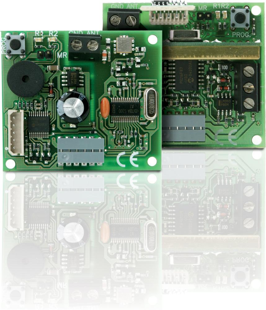 Zásuvné přijímače JCM Technologies