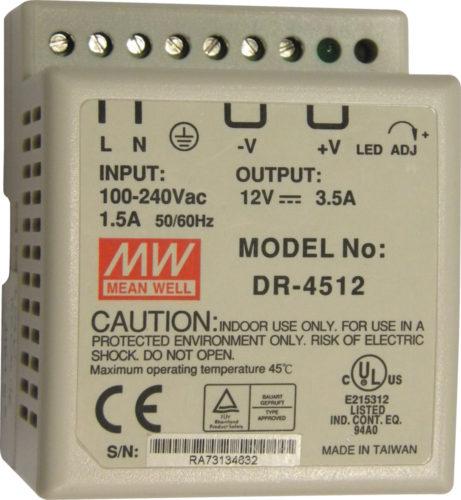 JCM Technologies DR-45-12 (5000055)