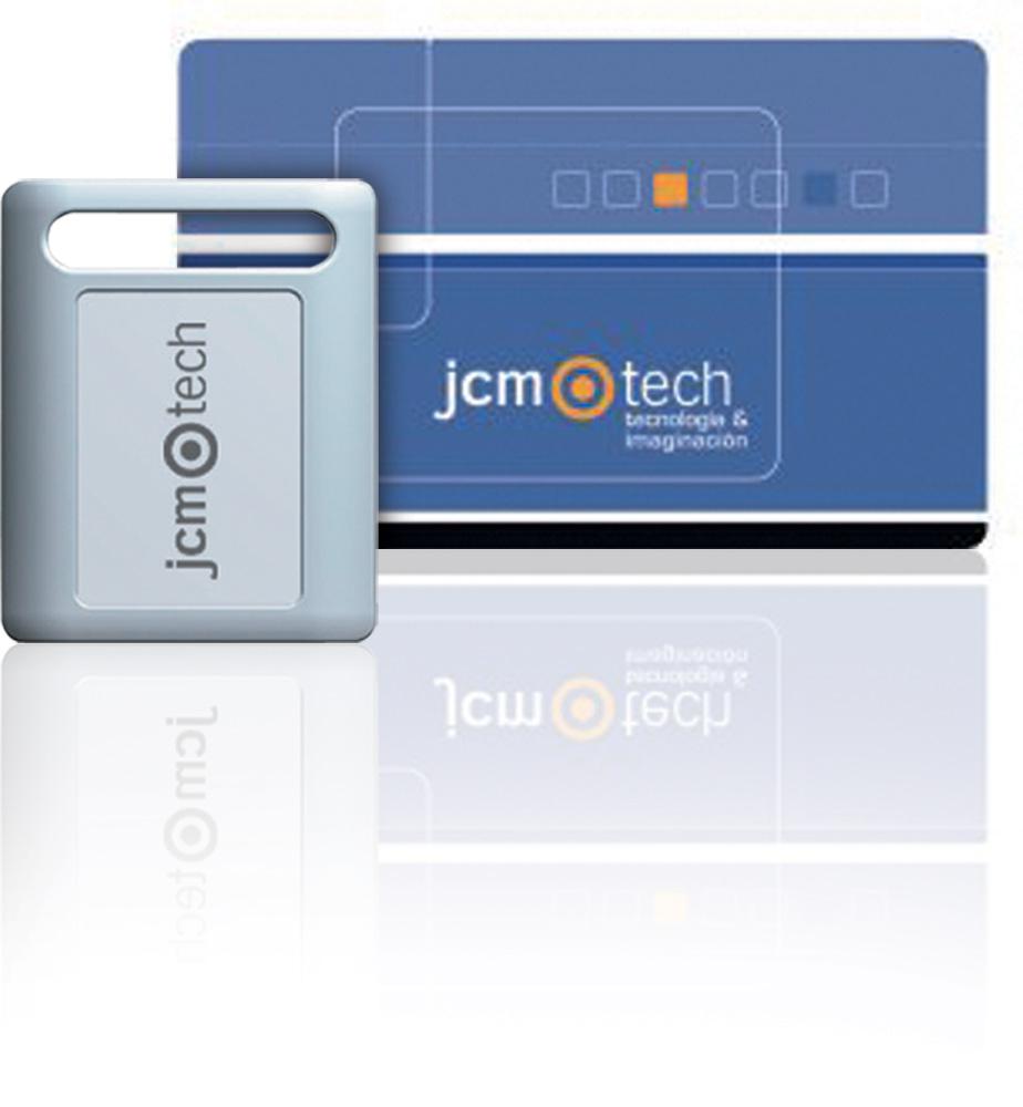 Bezkontaktní tagy a karty JCM Technologies