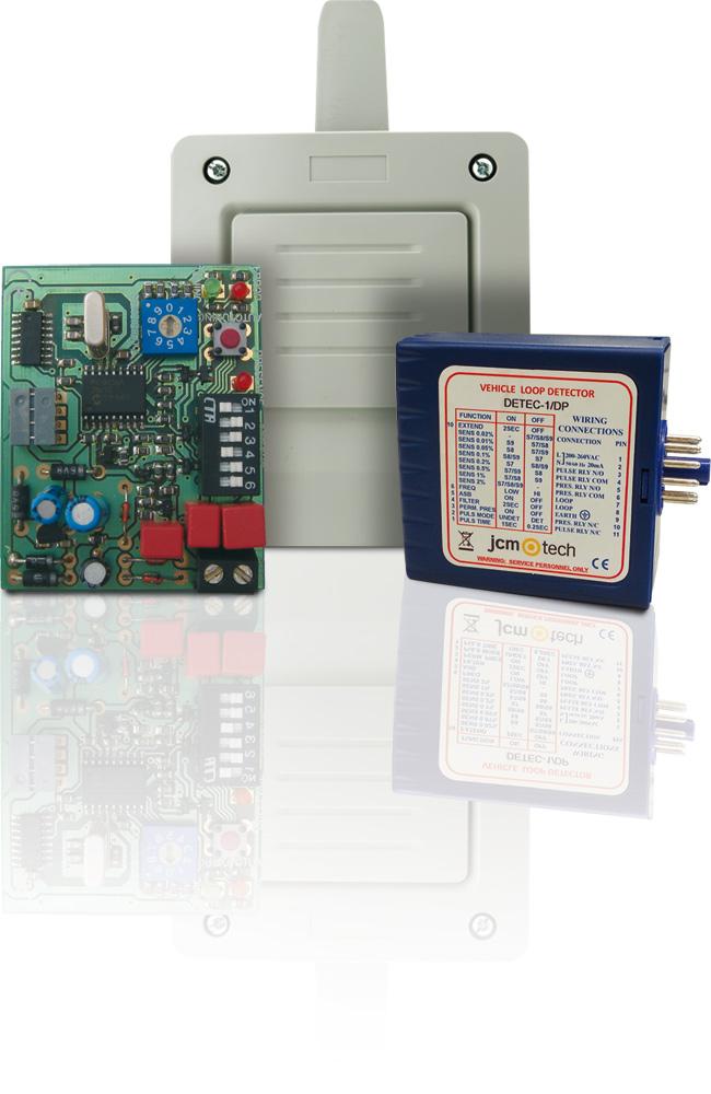 Magnetické detektory vozidel JCM Technologies
