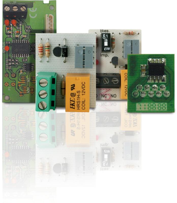 Reléové karty JCM Technologies